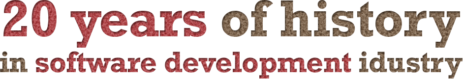 20 Years of industry in history of software development industry